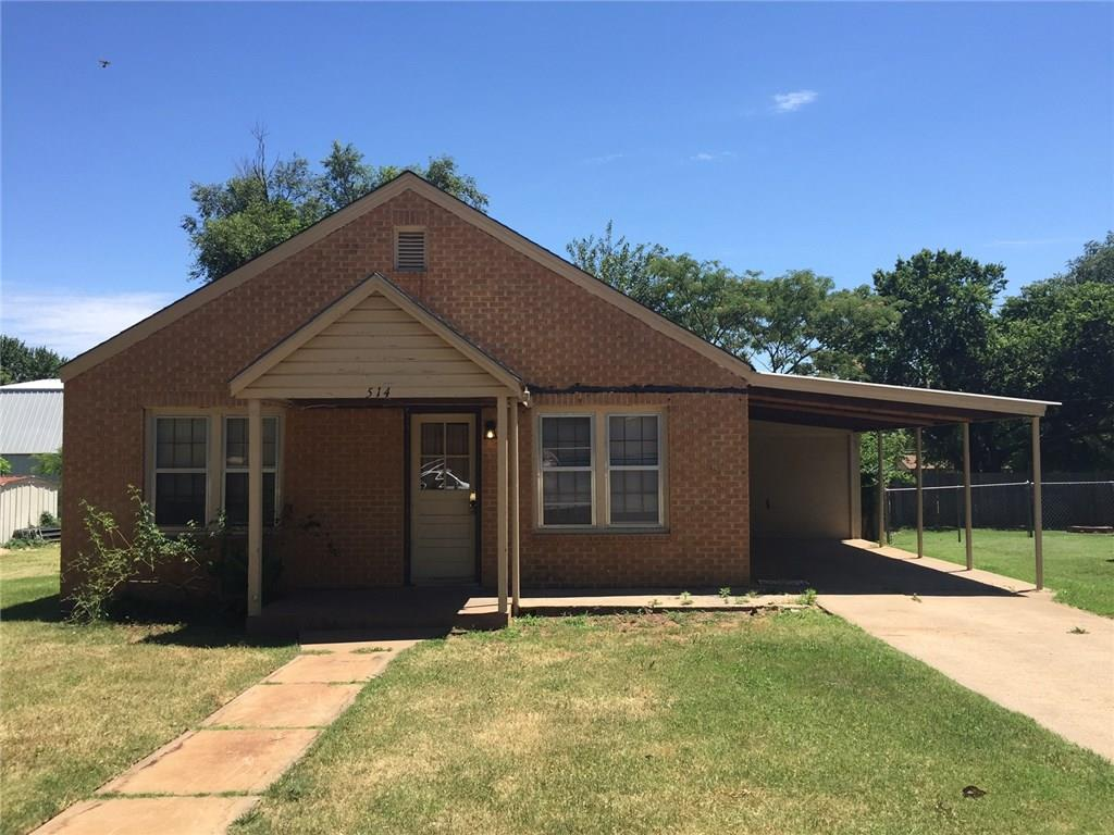 514 W Tom Stafford, Weatherford, OK 73096