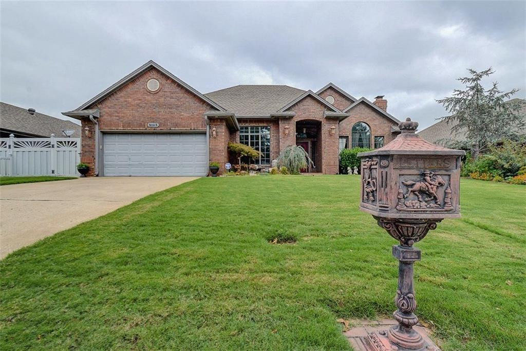 9109 Spring Creek Drive, Midwest City, OK 73130