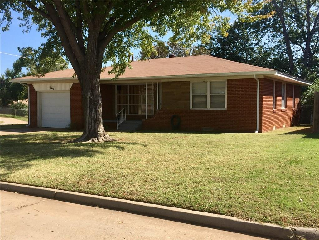 660 E Frolich Drive, Midwest City, OK 73110