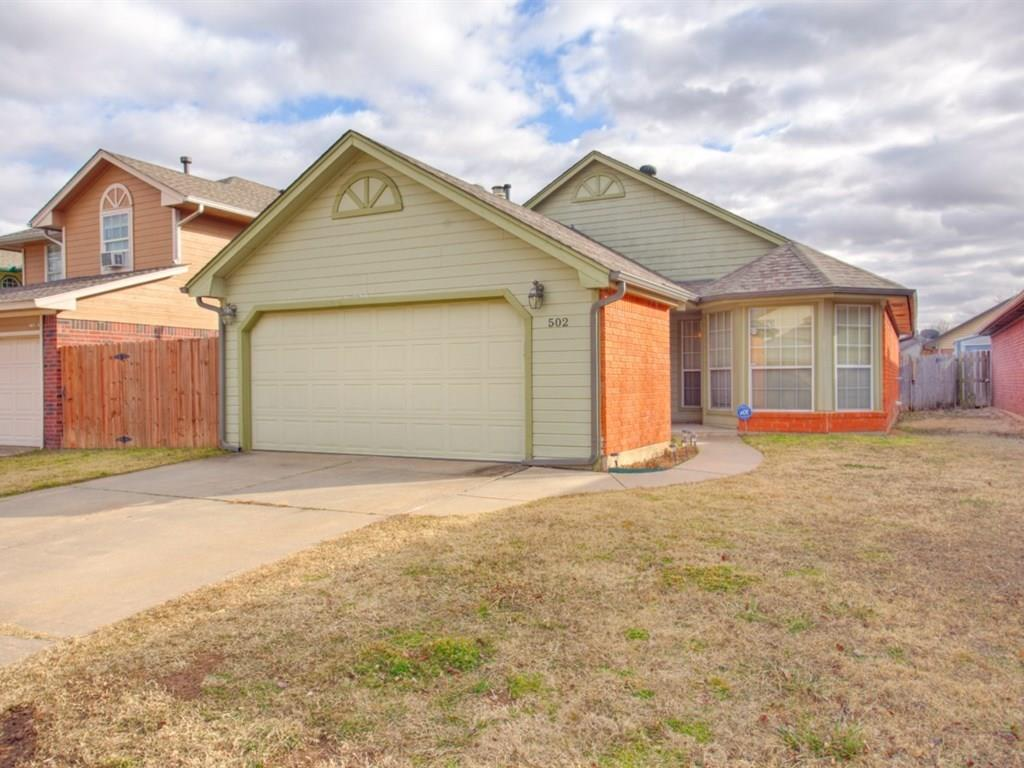 502 Clover Road, Moore, OK 73160
