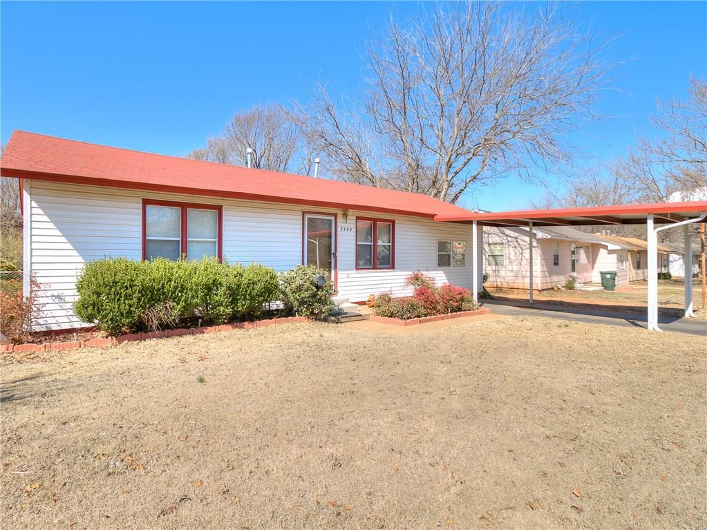 3409 Brookside Drive, Midwest City, OK 73110